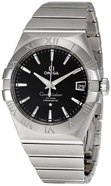 buy Omega Men'S 123.10.38.21.01.001 Constellation Black Dial Watch