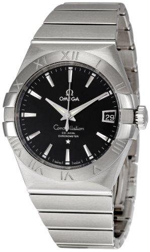 Omega Men's 123.10.38.21.01.001 Constellation Black Dial Watch