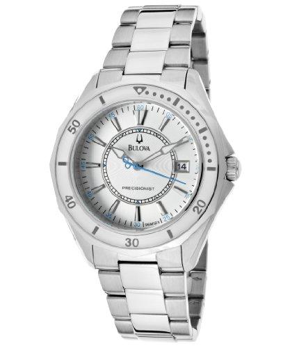 Bulova Women's 96M123 Winter Park Silver Tone/Silver Stainless Steel Watch