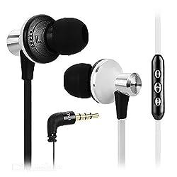 AWEI TE 850Vi Mega Bass Wired In-ear Earphone Headphone for iPhone Samsung - White