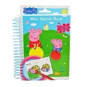 Peppa Pig: quaderno di schizzi mini