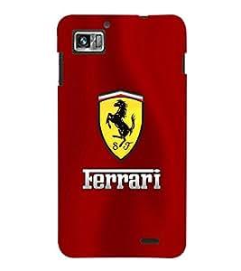 TOUCHNER (TN) Yellow Horse Back Case Cover for Lenovo K860