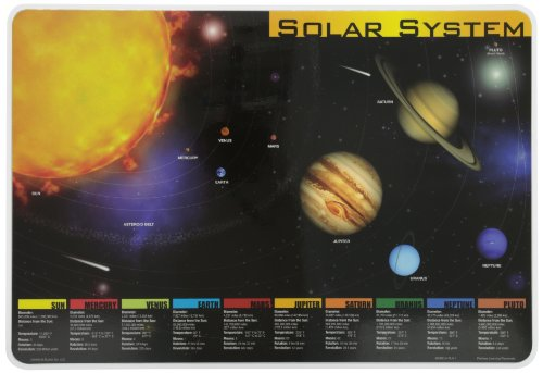 Painless Learning Solar System Placemat (Space Placemat compare prices)