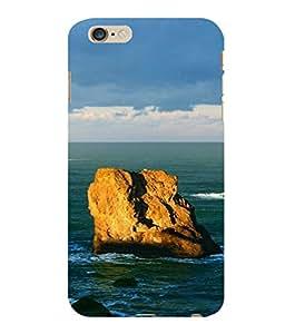printtech Sea Ocean Rock Back Case Cover for Apple iPhone 6S Plus