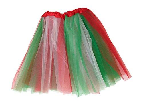Adult Teens Ballet Tutu Skirt By Mystiqueshapes ® (Christmas) (Tutu Skirts Adults)