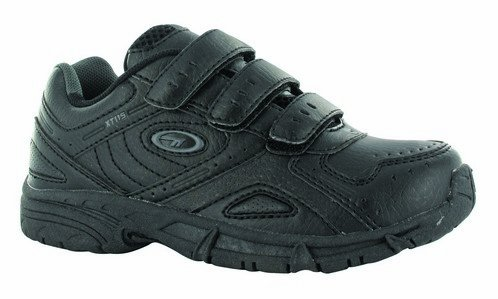 Hi-Tec XT115 Jr Velcro Sports Fitness Shoes Black