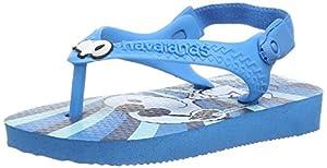 Havaianas Baby Snoopy Chanclas, Niños, multicolor - Mehrfarbig (Turquoise / 0212) - 25 EU (22 BR) marca Havaianas en BebeHogar.com