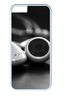 buy Diy Iphone 6 Plus Case, Cell Phone Case For Apple Iphone 6 Plus, Ipod Headphone Fit For Apple Iphone 6 Plus, Hard Pc White Bumper Screen Protector For Apple Iphone 6 Plus [Shock-Dispersion] [Slim Fit]