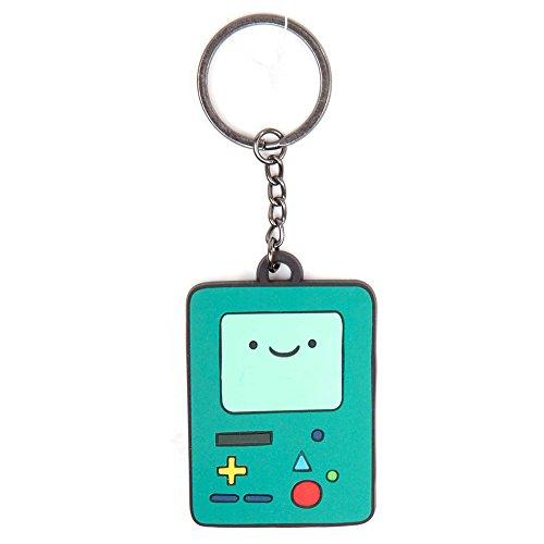 "Adventure Time BMO Beemo ""gomma portachiavi (Verde)"