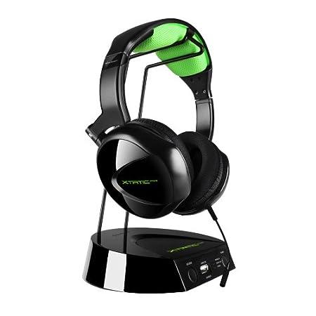 Micro-casque Sharkoon X-tatic Air noir pour PS3/X360/PC/Mac