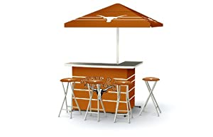 Best of Times Patio Bar and Tailgating Center Deluxe Package- University of Texas by Best of Times, LLC