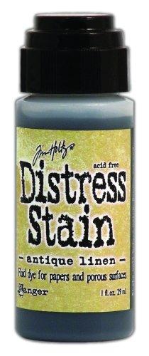 ranger-tdw-29816-tim-holtz-distress-stain-fluid-water-based-dye-antique-linen-1-ounce