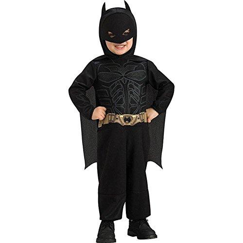 Batman The Dark Knight Jumpsuit Costume, Batman Print, 1-2 Years