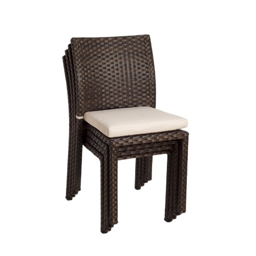 Atlantic Liberty Stackable Chairs, 4-Pack photo