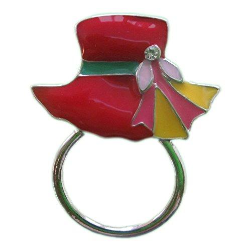 Magnetic Eyeglass Holder - Red Hat (Hat Granny)