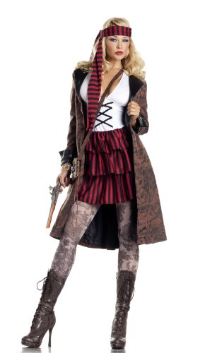 Be Wicked Costumes Women's Provocative Pirate Costume