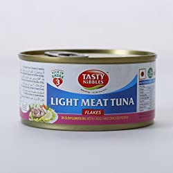 Tuna Flakes in Sunflower Oil with Chilli & Pepper (Pack of 2)