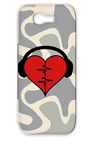 Red Romance Oscillator Music Miscellaneous Fitness Rhythm Cue Love Beat Dance Music Valentine Life Heartrate Health Eeg Dj Ekg Relationship Rave Blood Gabba Electrocardiogram Mp3 Monitor Heartbeat Headphones 2C 2 Case Cover For Sumsang Galaxy Note Shatter