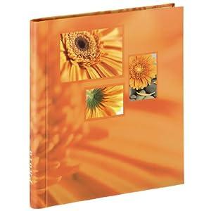 Hama Singo Album Portafoto Autoadesivo, 28x31 cm, 20 Pagine, Arancio   Valutazioni Valutazione