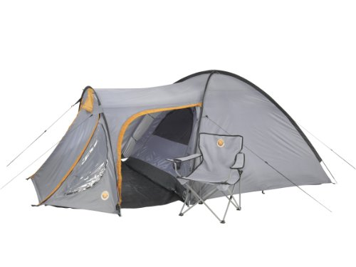 Grand Canyon Morgan 3 Person Tent - Stone/Sand