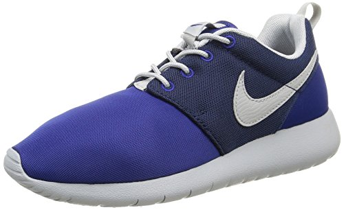 Nike Kids Roshe One (GS) Dp Royal Blue/Wlf Gry/Mid Nvy Running Shoe 4 Kids US