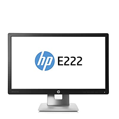 HP M1N96A8#ABA EliteDisplay E222 21.5'' 1080p Full HD LED-Backlit LCD Monitor, Black/Silver