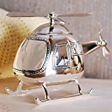 Best Christening Gifts - Christening Gifts. Boys Silver Helicopter Money Box Review