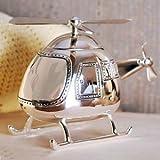 The Juliana Collection - Cadeau de Bapt�me - Tirelire Argent� - H�licopt�re - 7 x 14 x 11 cmpar The Emporium...