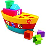 Giggles Stack A Boat, Multi Color