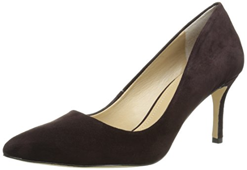 BCBGeneration Women's BG-Pinni Dress Pump, Oak Suede, 6.5 M US