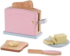 KidKraft 63304 Pastel Toaster Set