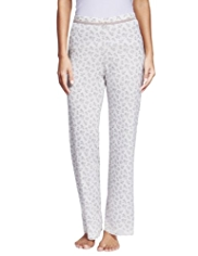 Marl Pointelle Thermal Pyjama Bottoms