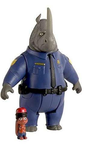 Disney - Zootropolis - Mchorn & Safety Squirrel - Confezione 2 Personaggi
