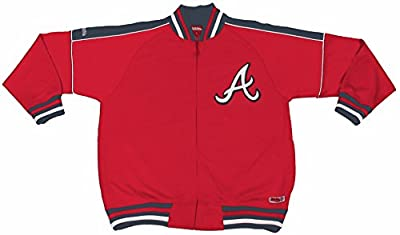 MLB Atlanta Braves Contrast Shoulder Track Jacket
