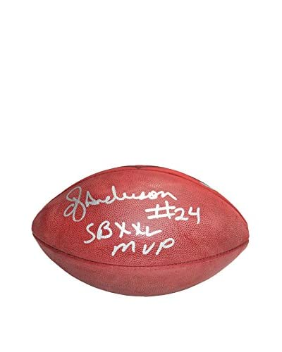 "Steiner Sports Memorabilia OJ Anderson Autographed ""MVP"" Super Bowl XXV Football"