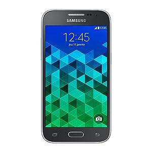 Samsung Galaxy Core Prime Smartphone débloqué 4G (Ecran : 4.5 pouces - 8 Go - Simple SIM - Android 4.4 KitKat) Noir