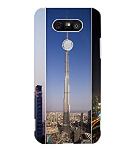 LG G5 BUILDING Back Cover by PRINTSWAG