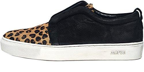 Maruti Women's Breeze Women's Leopard Slip-On Sneakers In Size 39 Multicolour