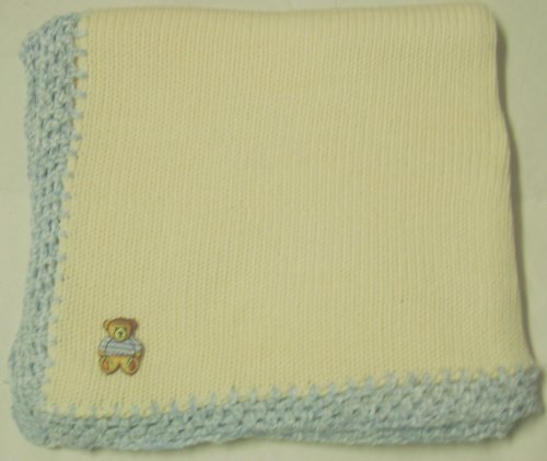 Hand Knitted Baby Blanket back-330157
