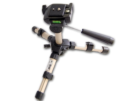 Cowboystudio Mini Tripod for Camera DSLR, SLR, and Camcorders with Carrying Bag