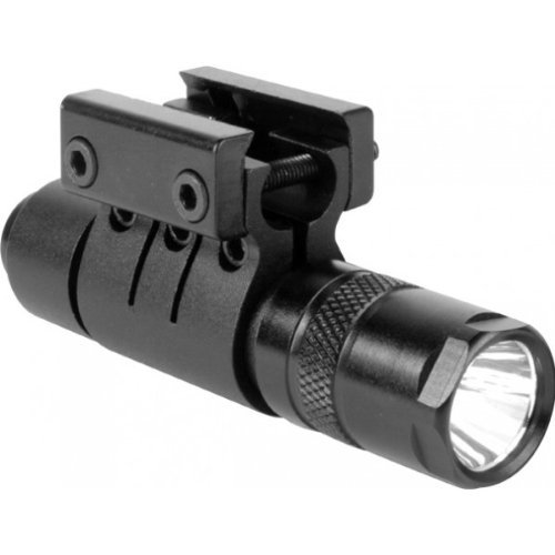 Ultimate Arms Gear 90+ Lumens L.E.D Military Flashlight Cree Led Tac - Light Package Kit Set Includes: Weaver-Picatinny Ring Mount, Remote Pressure Switch Cord , Push Button Tail Cap, And Batteries - Remington 870/1187/11-87 12/.20 Gauge-Shotgun-Gun Made