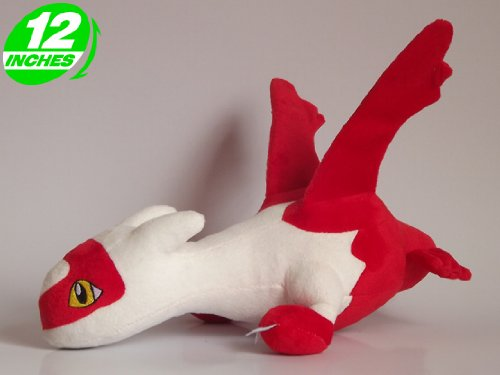 Anime Pokemon Latias Plush Doll 12 Inches
