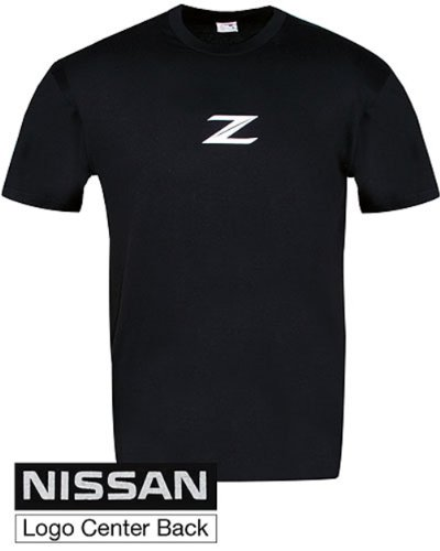 Genuine Nissan Men's Z Soft Style Tee Shirt T-Shirt - Black - Size 2XL футболка mishka kong mop t shirt black 2xl