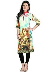 High Street Fashion Style Women's Digital Printed Kurtis