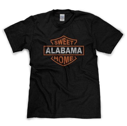Nach oben Sweet Home Alabama Classic Rock Musik Legends Retro-T-Shirt (black/print xxlarge)