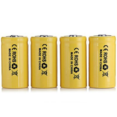Best Brand Tangsfire 4 X 3.7V 1500Mah 18350 Lithium Rechargeable Battery For Electronic Devices