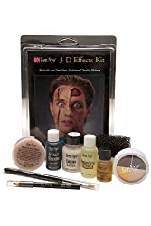 Character Makeup Kits Ben Nye Deluxe 3-d Special Effects Kit
