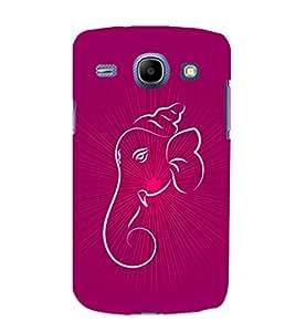 printtech Lord Ganesha Glow Aura Back Case Cover for Samsung Galaxy Core i8262::Samsung Galaxy Core i8260