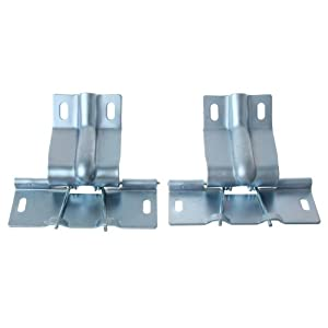 Mustang trap door hinges fastback pair 1965 1966 automotive Trap door hinges