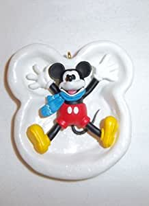 1997 Hallmark Ornament Mickey & Co. Mickey's Snow Angel